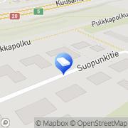 Kartta Lakitoimisto Omajuristi Oy Oulu, Suomi