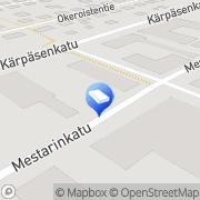 Kartta Mainospuotila Lahti, Suomi