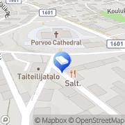Kartta Arkkitehtuuritoimisto Pekka Hornamo Ky Porvoo, Suomi
