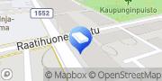 Kartta Hautaustoimisto- Begravningstjänst  P. Borg Oy Ab Porvoo, Suomi