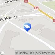 Kartta Salpausselän Kirjapaino Oy Kukkila, Suomi