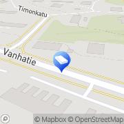 Kartta Vanhatie 53 Oy Lahti, Suomi