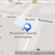 Kartta Isännöintipalvelu JES Oy Rovaniemi, Suomi