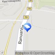 Kartta Rovaniemen kaupunki Katajarannan päiväkoti Rovaniemi, Suomi