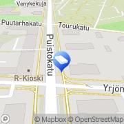 Kartta LBI digital Jyväskylä, Suomi