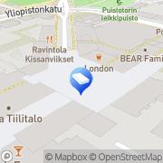 Kartta TietoAkseli Yrityspalvelu Oy Jyväskylä, Suomi
