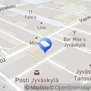 Kartta NCC Rakennus Oy Jyväskylä, Suomi