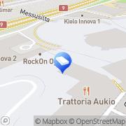 Kartta Paviljonki Ravintolat Jyväskylä, Suomi