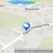 Kartta Jyväskylän Automatiikka Jyväskylä, Suomi
