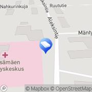 Kartta Kiinteistö Oy Kärsämäen Liikekeskus Kärsämäki, Suomi