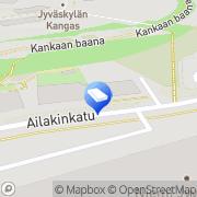 Kartta Insinööritoimisto Finnsampo Jyväskylä, Suomi