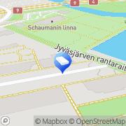Kartta Asianajotoimisto Laine Marjo Jyväskylä, Suomi