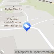 Kartta Insinööritoimisto Ilmatekno Oy Viitasaari, Suomi