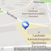 Kartta Laukaan kunta Sararannan päiväkoti Laukaa, Suomi