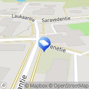 Kartta Isännöitsijätoimisto Kauppinen Vesa Laukaa, Suomi
