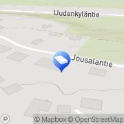 Kartta PR Siivouspalvelu Uusikylä, Suomi
