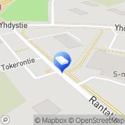 Kartta Joutsan Teollisuus- ja liiketilat Oy Joutsa, Suomi