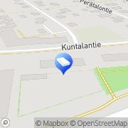 Kartta Kuusaan ATK Kuusankoski, Suomi