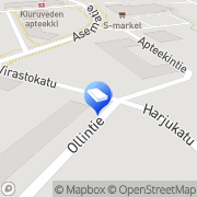Kartta Rakennusliike T Tuovinen Kiuruvesi, Suomi