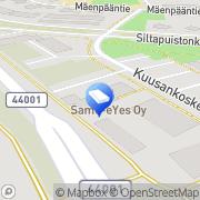Kartta Lakiasiaintoimisto Markku Potinkara Kuusankoski, Suomi