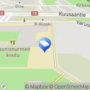 Kartta Kouvolan kaupunki Nurmilinnun päiväkoti Kouvola, Suomi