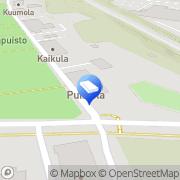 Kartta Kouvolan kaupunki Puistolan päiväkoti Kouvola, Suomi