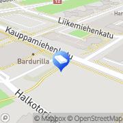 Kartta Sirelle Design Kouvola, Suomi