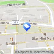 Kartta Valohuone Kouvola, Suomi