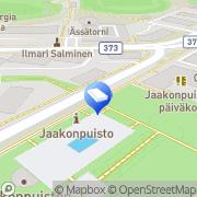 Kartta Kouvolan kaupunki Jaakonpuiston päiväkoti Kouvola, Suomi