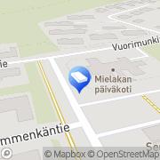Kartta Kouvolan kaupunki Mielakan päiväkoti Kouvola, Suomi