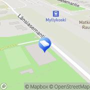 Kartta Kouvolan kaupunki Myllykosken päiväkoti Kouvola, Suomi