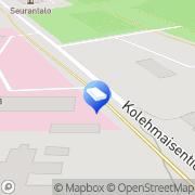 Kartta Vaalan kunta neuvola Vaala, Suomi