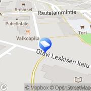 Kartta Kiinteistönotariaatti Lahdelma LKV Suonenjoki, Suomi