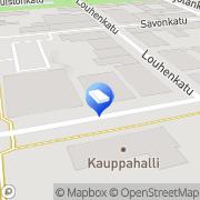 Kartta Huoneistokeskus Iisalmi, Suomi
