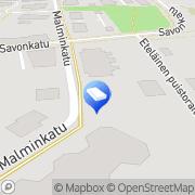 Kartta Iisalmen kaupunki Malminrannan päiväkoti Iisalmi, Suomi