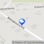 Kartta Remonttipalvelu Pete Ky Pieksämäki, Suomi