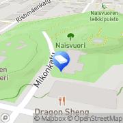 Kartta Naisvuoritalo Mikkeli, Suomi