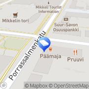 Kartta Ristiinantie 1 Kiinteistö Oy Mikkeli, Suomi