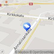 Kartta ISS Palvelut Oy Kemijärvi, Suomi