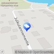 Kartta Puijon PC-palvelu Kuopio, Suomi