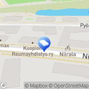 Kartta Mainostoimisto AD Kiivi Ky Kuopio, Suomi