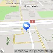 Kartta Kiinteistö Oy Kuopion Tasavallankatu 22 Kuopio, Suomi