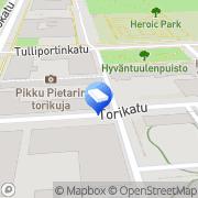 Kartta Kiinteistö Oy Turontalo Kuopio, Suomi