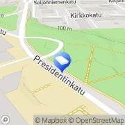Kartta Rakennusliike Matti Antikainen Ky Kuopio, Suomi