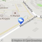 Kartta PINK MOOSE design Tupos, Suomi