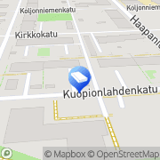 Kartta Tilitoimisto Kuopionlahden Laskenta Salolahti Oy Kuopio, Suomi