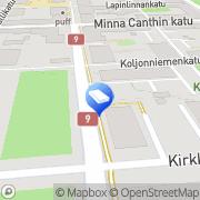 Kartta Mainostoimisto Lintera Ky Kuopio, Suomi