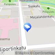 Kartta Tilitoimisto Tulosvahti Ky Kuopio, Suomi
