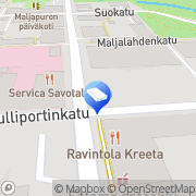 Kartta Vaatturiompelimo Valkonen Paula Kuopio, Suomi