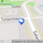 Kartta NCC Rakennus Oy Kuopio, Suomi